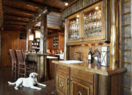 Rustic Wood Cabinetry